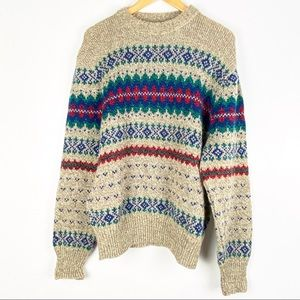 VINTAGE AMERICAN EAGLE sweater Medium wool o606